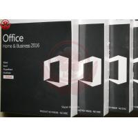 Buy cheap Microsoft Office Home And Business 2016 For Mac Retail Key Online Activate from wholesalers