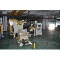 Buy cheap Double Head Material Frame Decoiler And Straightener Servo Feeder Automation Equipment from wholesalers