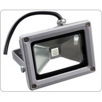 Buy cheap IP 65 24v White RGB Color Changing led flood light 10W anti - moisture , 50,000h from wholesalers