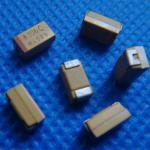 Buy cheap MLCC Tantalum SMD Chip Capacitor TAJA106K016RNJ 10uF(106) ±10% 16V CASE-A 3216 10/16A from wholesalers