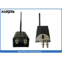 Buy cheap 5W Analog UAV Video Link 100km LOS FM Wireless Transmitter with BNC Output product