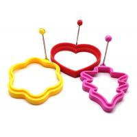 Buy cheap Cute No Stick Egg Poacher , Silicone Cooking Egg Fried Ring Mould from wholesalers