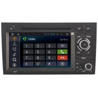 Buy cheap High Pixel Audi DVD Player 1999 - 2007 Mirror Link Audi A4 Car GPS Navigation System from wholesalers