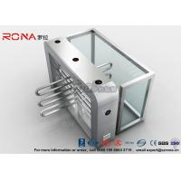 Quality Bus Station Waist Height Turnstiles Coin Collector Remote Control Boom Barrier for sale
