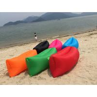 Buy cheap 2016 Fashion Nylon Fabric Air Filling Inflatable sleeping bag Lamzac Hangout product