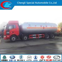Buy cheap 35.5 Cubic Meter 8X4 Faw LPG Gas Tanker Truck from wholesalers