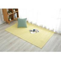 Buy cheap Hand Made cotton door mats , Study carpet mat for living room Customized from wholesalers
