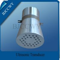 Buy cheap Piezo Ceramic Ultrasonic Cleaning Transducer , 25 KHZ Ultrasonic Transducer from wholesalers
