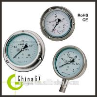 Buy cheap All stainless Oil filled pressure gauge, Stainless  Pressure Gauge,Hydraulic Oil Pressure from wholesalers