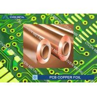 550mm - 1295mm Width Rolled annealed Copper Foil for Printed Circuit Board
