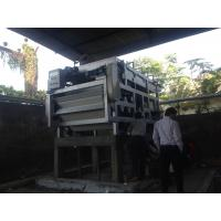 Buy cheap Large Capacity Sludge Dewatering Belt Press Machine For Industry from wholesalers