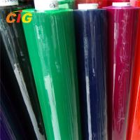 Buy cheap Colorful Pvc Plastic Sheet Roll / Flexible Pvc Film 0.08mm-0.5mm Thick 120-200cm product