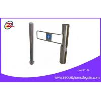 Buy cheap reflection infrared Turnstile Entry Systems / Portable Single Turnstile from wholesalers