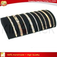 Buy cheap Black velvet necklace display stand jewelry organizer for necklace from wholesalers