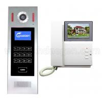 Buy cheap 4.3 inch Color LCD Monitor New Multi Apartment Building Video Door Phone Door Bell Intercom Door Entry System from wholesalers