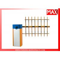 Buy cheap Smart Manual Release Car Park Barriers Parking Lot Barrier Gates from wholesalers