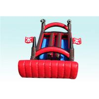Buy cheap Red and Black Corsair Large Inflatable Slide With Cannon EN14960 BV CCC from wholesalers
