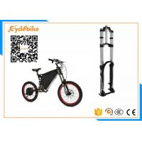 19 Inch Full Suspension Electric Mountain Bike 5000w With Carbon Steel Frame Material