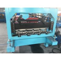 Buy cheap 7.5KW Roofing Sheet Roll Forming Machine 3.5T Roof Panel Roll Forming Machine from wholesalers