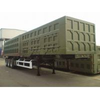 Buy cheap 2014 Year Second Hand Semi Trailers With 3 Axles And 12 Pieces Tires from wholesalers