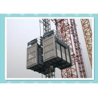 Platform Personnel And Materials Hoist Safety , Construction Hoist Elevator