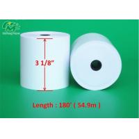 Buy cheap 3 1/8 Cash Register Thermal Paper Rolls ATM Printing Paper For POS Printers from wholesalers