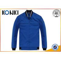 Buy cheap Blue Uniform Coats And Jackets , Long Sleeve  Uniform Jackets For Man from wholesalers