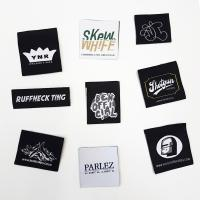 Buy cheap 100% Polyester Fabric Woven Clothing Labels garment tags and labels from wholesalers