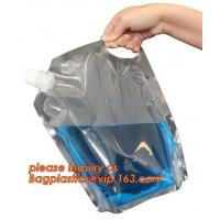 Buy cheap Squeeze refillable plastic packaging spout bag for Chemical industry bag,Chemical Pesticide Plastic Foldable Spray Bottl from wholesalers