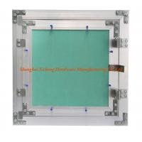 Buy cheap Light Aluminum Frame Access Panel With Green Plasterboard  Low Height Special Push Lock from wholesalers