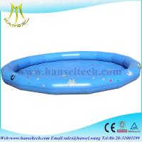 Buy cheap Hansel inflatable water games inflatable water pool from wholesalers