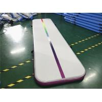 Buy cheap Colorful Air Track Gymnastics Mat , Great River Hill Air Floor Mat from wholesalers