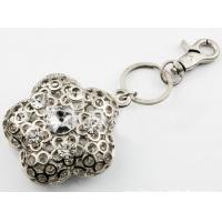 Buy cheap Flower Style Fashion Promotion Gift of Crystal Keyring (HJKR00020-C01) from wholesalers