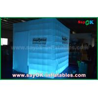 Buy cheap Portable Inflatable Led Cube Photo Booth Props Fire-Resisitant from wholesalers