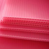 Buy cheap Moisture-Resistance Hollow Corrugated Polypropylene PP Sheet (WX-ZKB) from wholesalers