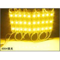 Buy cheap 12V LED Advertising Light Module SMD 5054 3-chips LED Module for channel letters from wholesalers