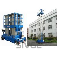 Buy cheap Four Mast Two Men Aerial Work Platform With 8m Working Height 480 Kg Load Capacity from wholesalers