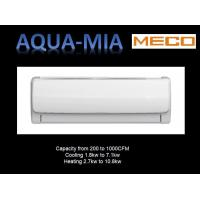 Buy cheap AC motor High Wall Fan Coil Unit Hot / chilled water air handler 1.3TR, 208-230/1/50/60 from wholesalers