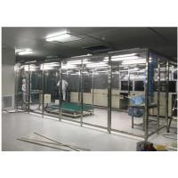 Buy cheap Softwall Class 10000 Clean Room With LED Light / Dispensing Down Flow Booth from wholesalers