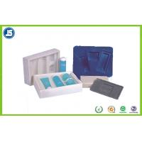 Buy cheap blister inner Plastic Cosmetic Trays PS flocking makeup storage boxes from wholesalers