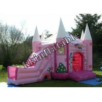 Buy cheap Pink Princess Jumping Castle Inflatable Combo With Slide Kzh-g012 For Rental Party  from wholesalers