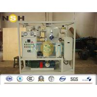 Buy cheap High Voltage Transformer Oil Purifier , Dehydrator Safe Operation Oil Purification Systems from wholesalers