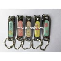 Buy cheap Souvenir Customized Engraved Nail Clipper Keychain Metal Souvenir Nail Clippers from wholesalers