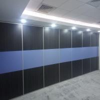 Buy cheap Auditorium Acoustic Partition Walls Temporarily Sliding Partition Wall from wholesalers