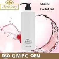 Buy cheap 1000ml natural organic Menthe Cooled Skin Gel Cold Mask for keeping calm from wholesalers