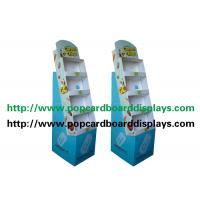 Buy cheap Blue Color Pop Up Cardboard Product Display Stands For Brand Advertising from wholesalers