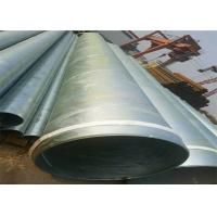 Buy cheap ASTM A53 Galvanized Schedule 40 Pipe / Galvanised Square Tube With Hydraulic Testing Inspection from wholesalers