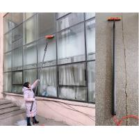 Buy cheap carbon fibre  telescopic tube pole carbon fiber reach and wash pole  long window cleaning pole with brush from wholesalers