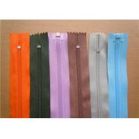 Buy cheap Heavy Duty Invisible Zipper For Jackets , Two Way Separating Zipper from wholesalers