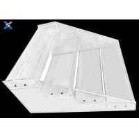 Buy cheap clear Acrylic Display Stands for Maternal and Child Shop Supermarket Convenience Store Snacks Shelf Trapezoidal from wholesalers